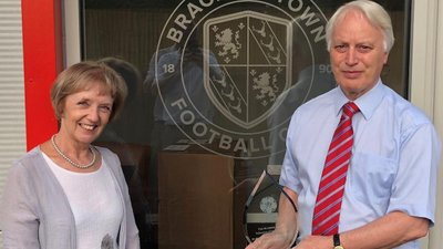 Perfect Pair Are Recognised For Their Dedication To Brackley