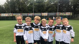 First Match for the U7 Colts