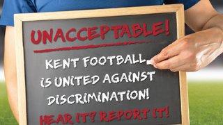 Herne Bay Harriers unites against discrimination in Football