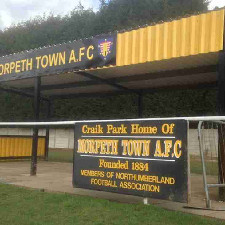 Morpeth Town announce new academy
