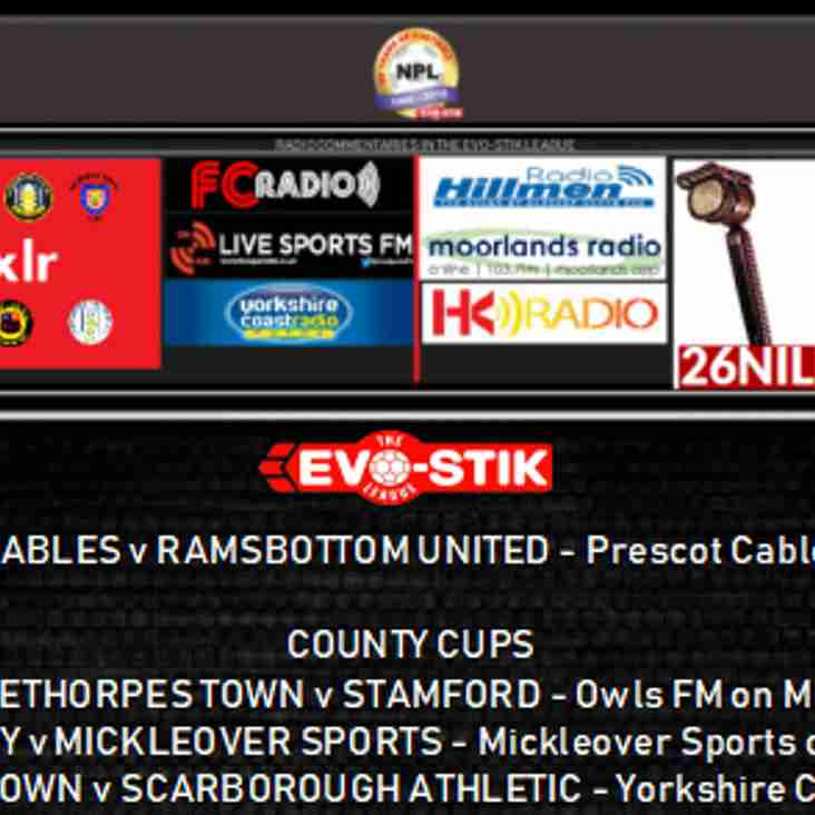 Tuesday night's live commentaries