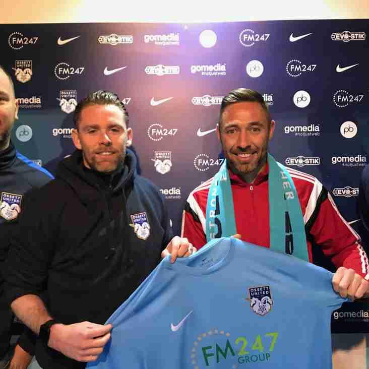 Striker Greaves leaves Ossett United
