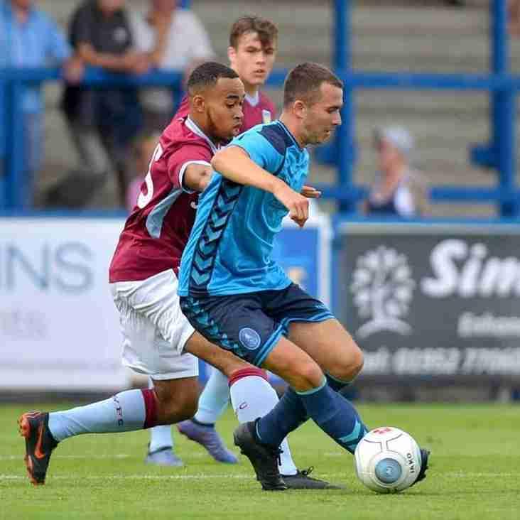 Hednesford sign Telford midfielder on loan