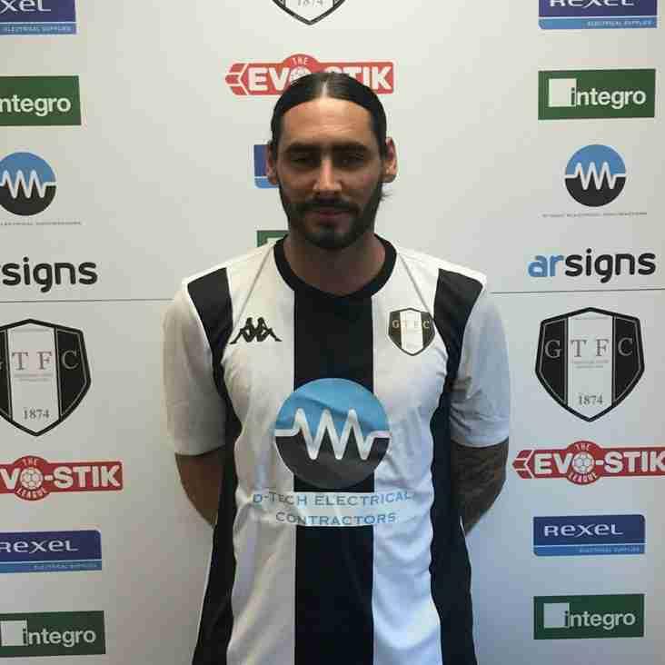 Grantham make first summer signing