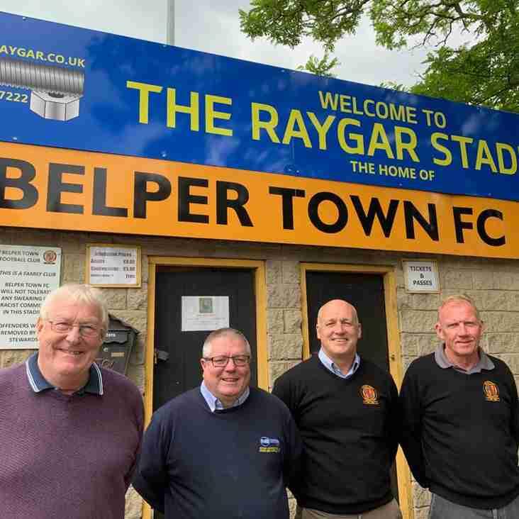 New title sponsor for Belper Town