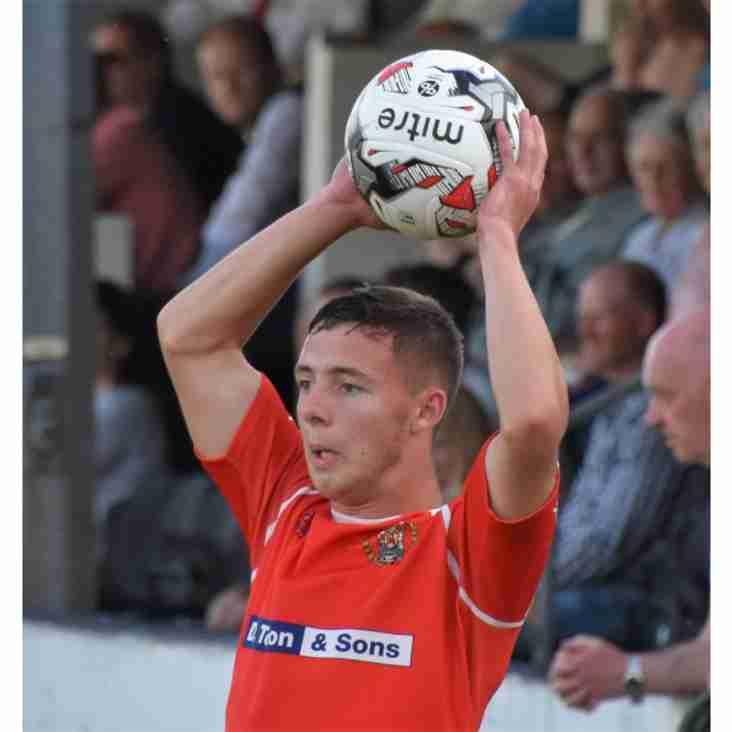 Liam Brockbank leaves Workington