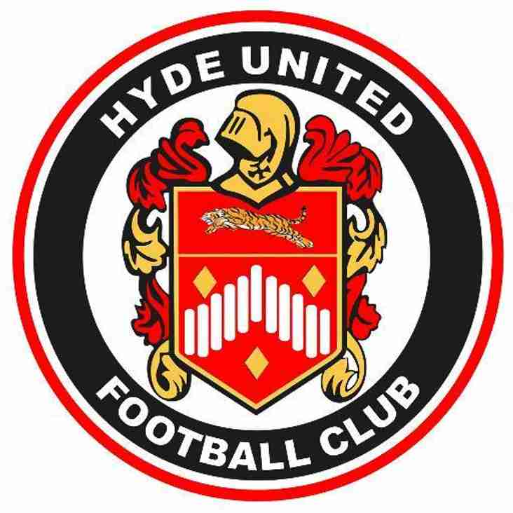 Hyde United announce three more