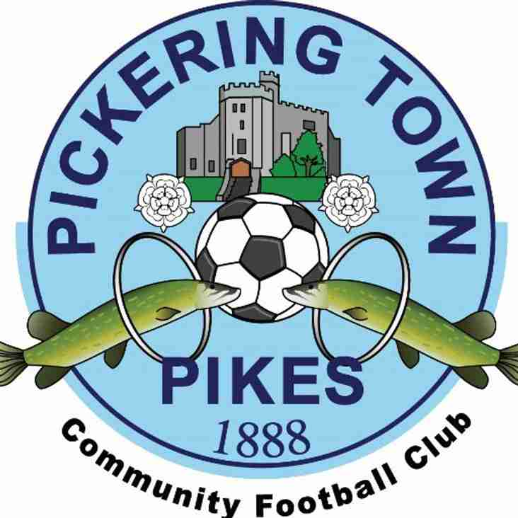 Pickering Town announce release list