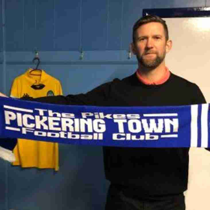 Pickering Town appoint Steve Roberts as new manager