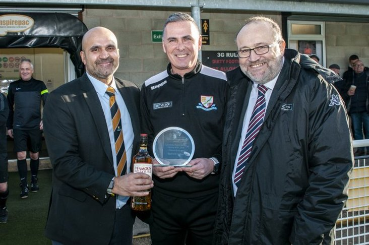 Basford were awarded January's Club of the Month