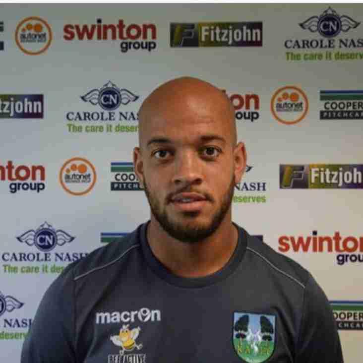 Rhys Thompson departs Kidsgrove