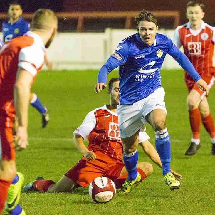 Double signing for Witton