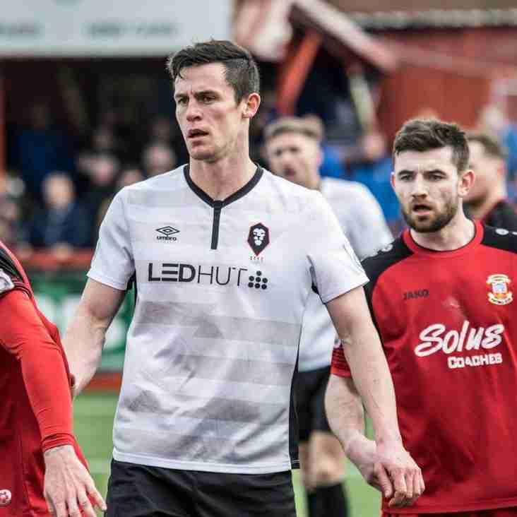 Lynch makes first signing as Clitheroe boss