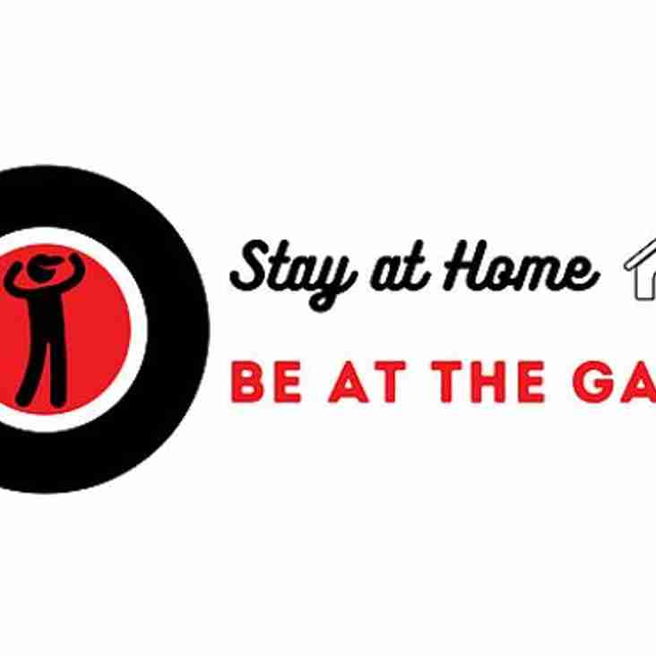 Bamber Bridge join Stay at Home - Be at the Game project