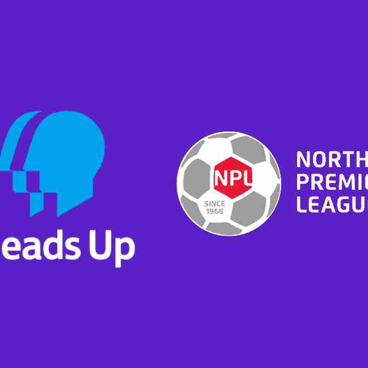 NPL shows support for 'Mentally Healthy Football'