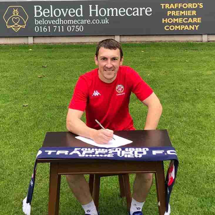 Trafford confirm nine re-signings