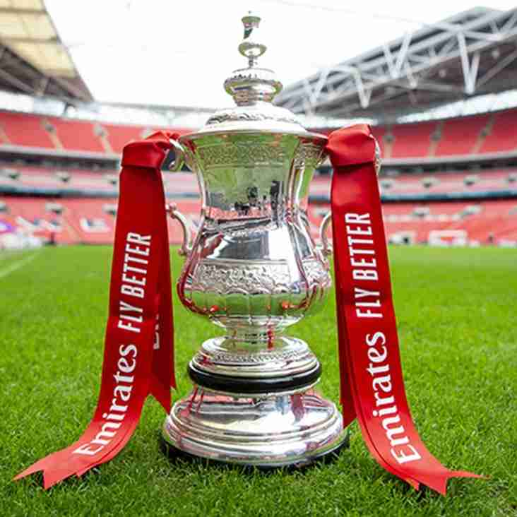 FA Cup fourth round qualifying draw