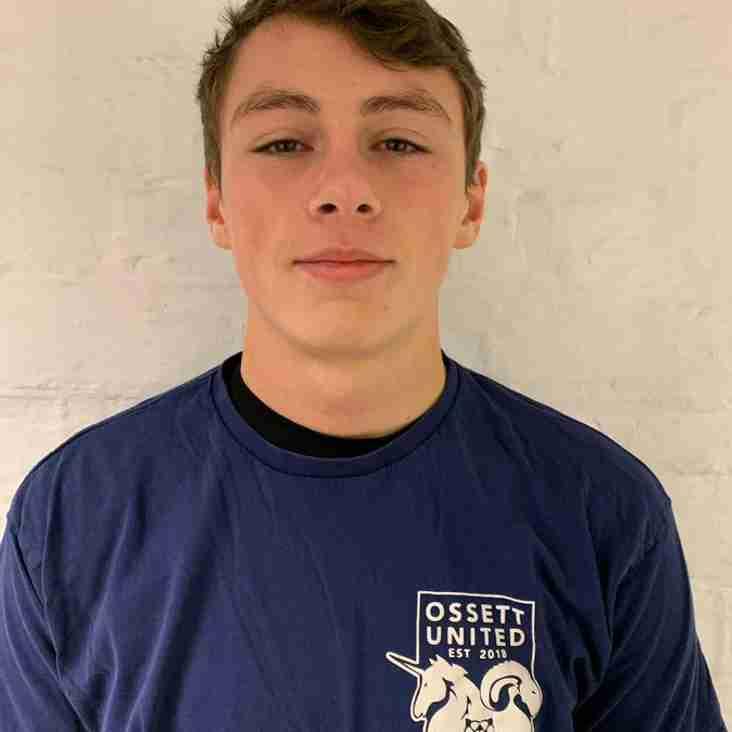 Harry Gagan re-joins Ossett United