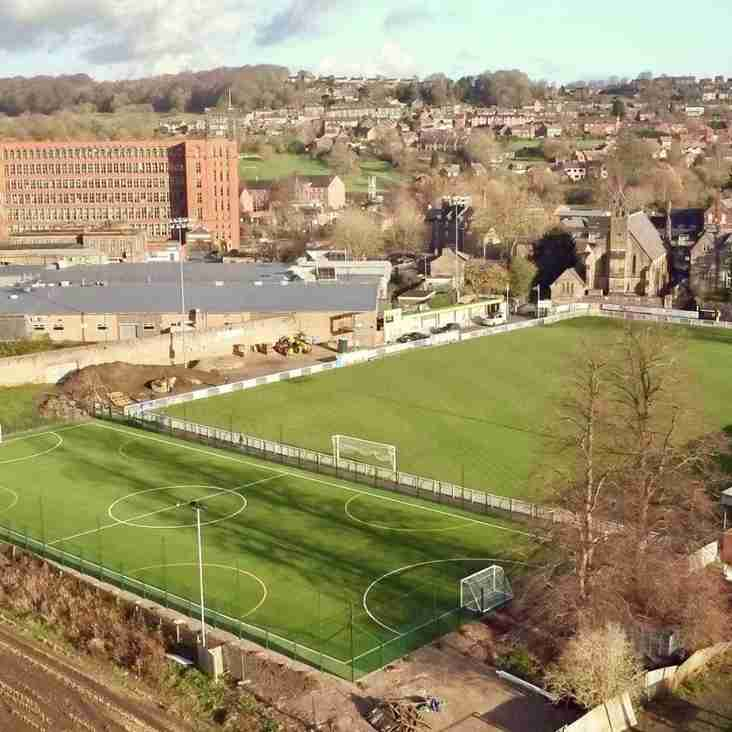 Belper Town's 4G training arena unveiled