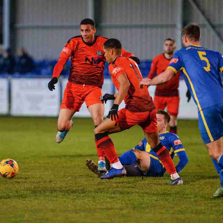 Only one remains as teams bow out of FA Trophy