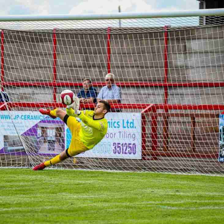 Witton 'keeper Chris Renshaw enjoying loan spell at Halifax