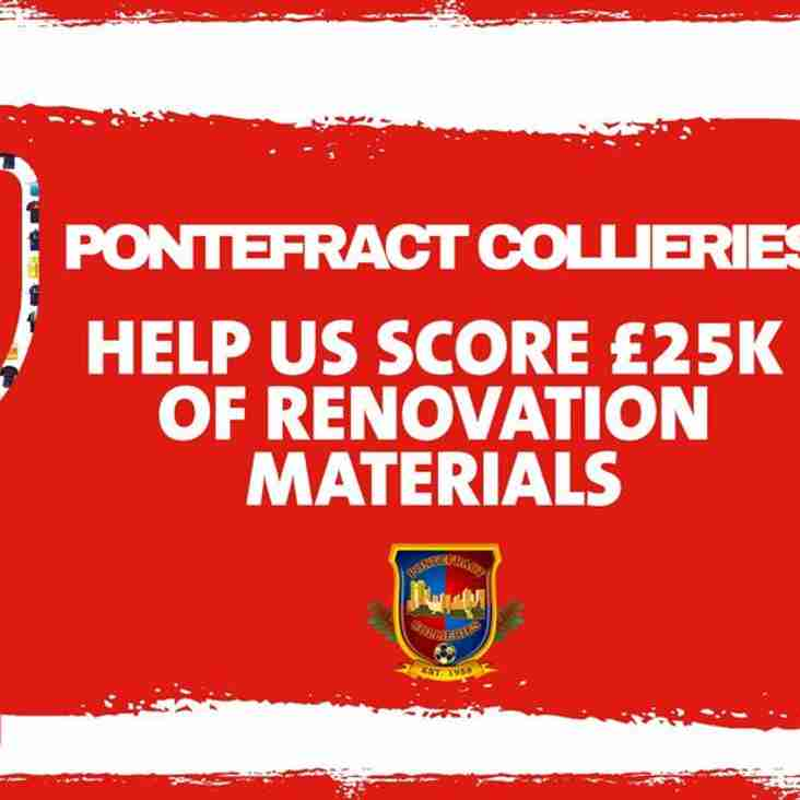 Support Colls bid for £25,000 Buildbase fund