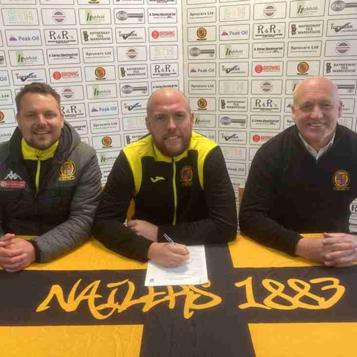 Belper Town skipper Danny South signs new deal