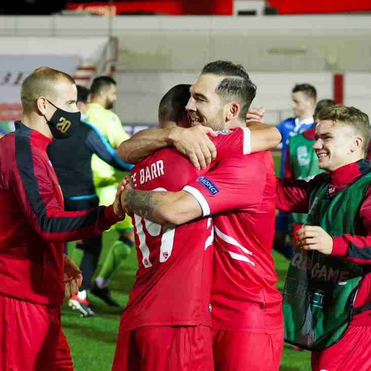 Buxton and Gibraltar striker Reece Styche reflects on World Cup qualifying experience
