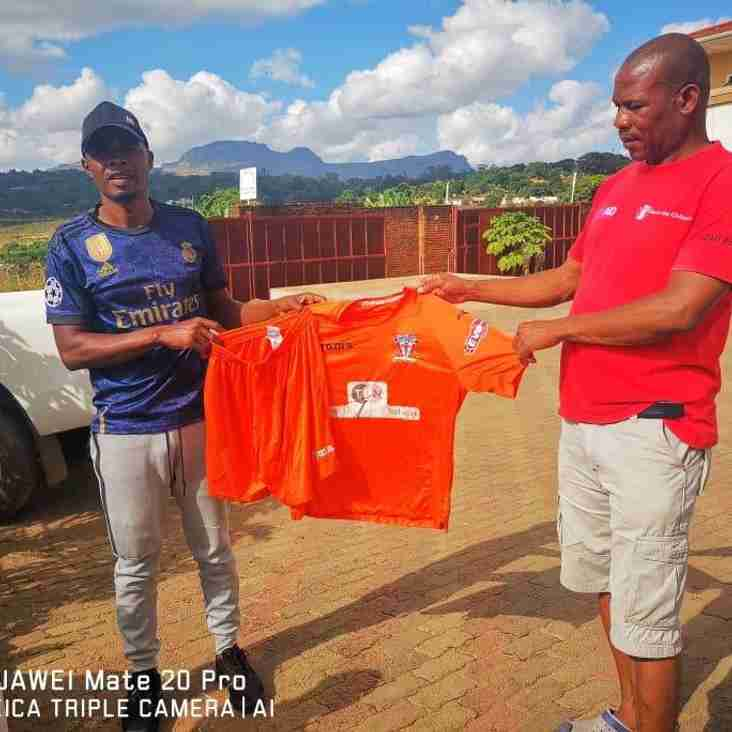 Witton Albion kit donated to Malawi via KitAid