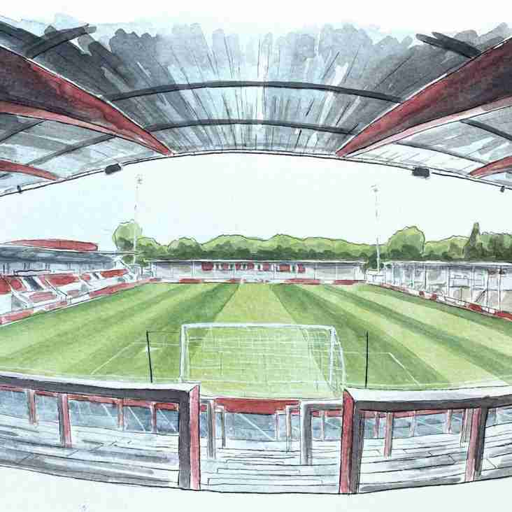 Win a bespoke painting of your favourite ground!