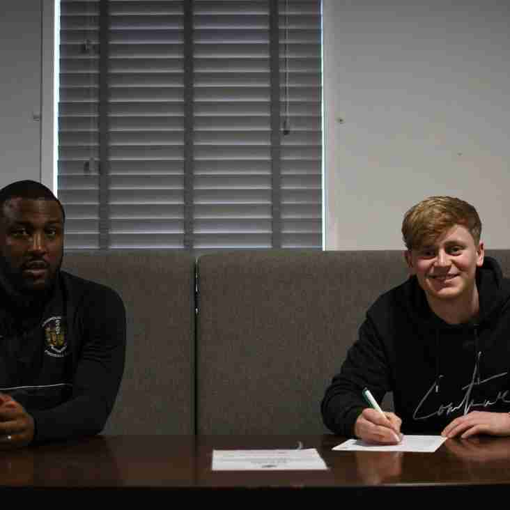 "Brighouse signing Elliot Harrison ""excited"" for new challenge"