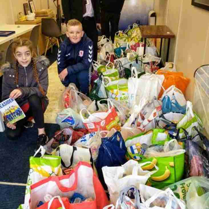 Marske United to support local foodbank