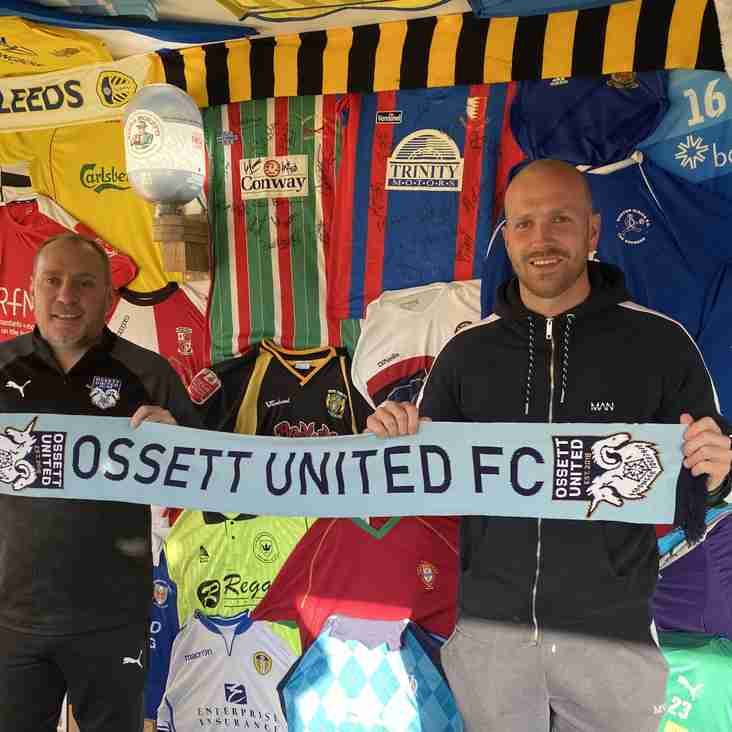 Ossett United confirm first signing ahead of 2021/22
