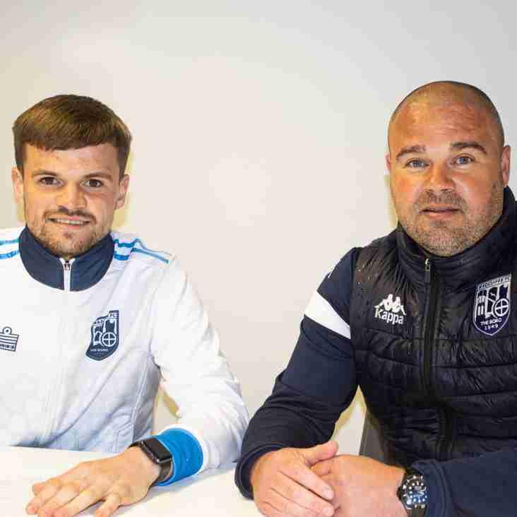 Radcliffe skipper re-signs