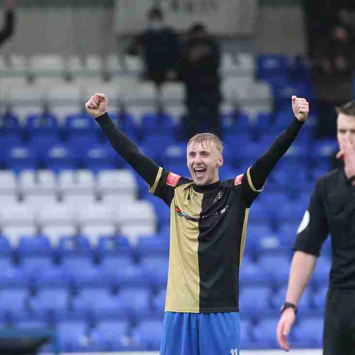 James Barrigan extends stay at Marine