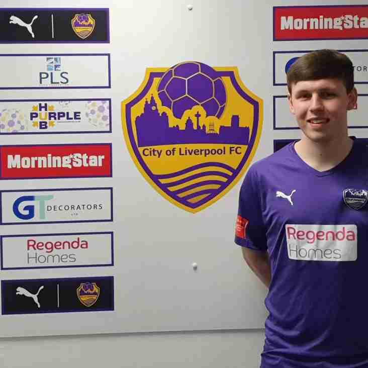 Jack Hazlehurst re-signs with City of Liverpool
