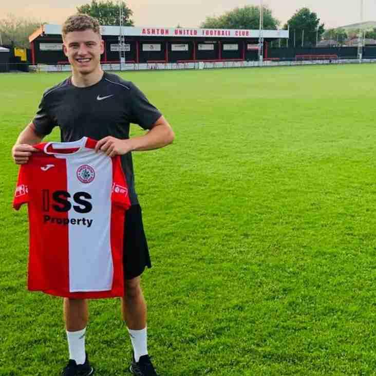 Harry Spratt joins Ashton United from York