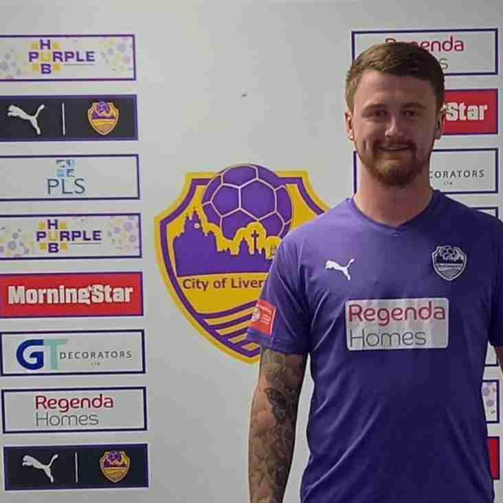 Adam Hughes joins City of Liverpool