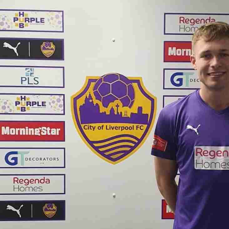 James Kirby joins City of Liverpool