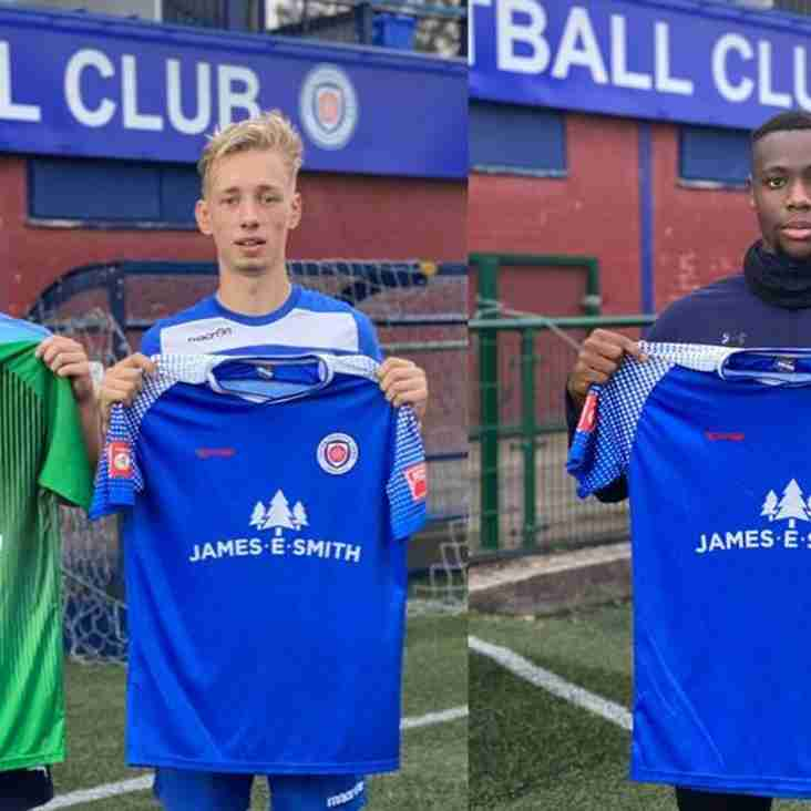 Sutton Coldfield Town announce first three signings