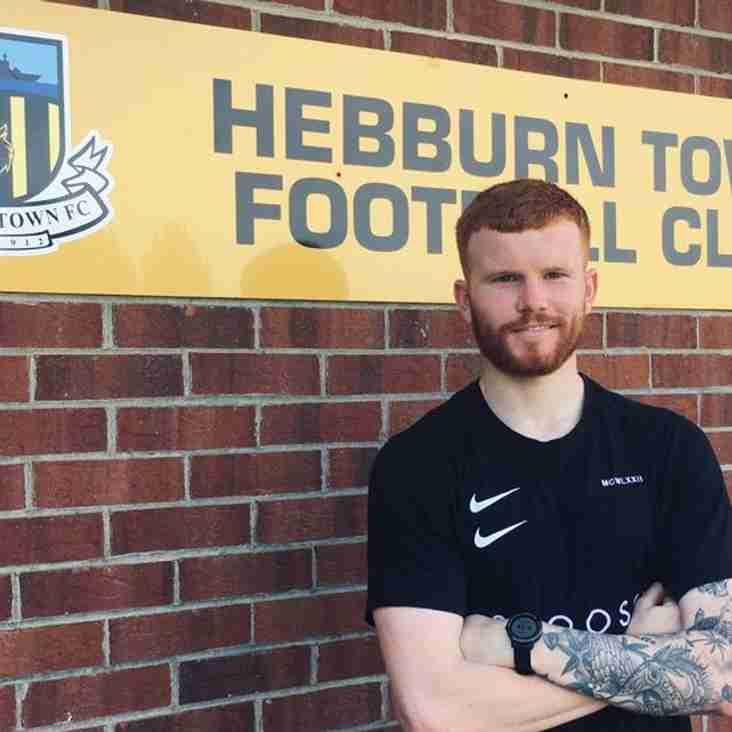 Tom Devitt signs for Hebburn Town