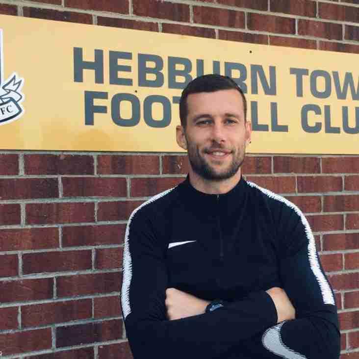 Mark McLeod joins Hebburn Town
