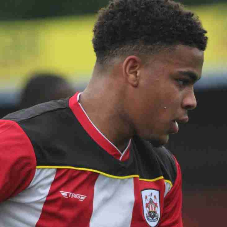 Ilkeston Town sign promising youngster Stern Irvine