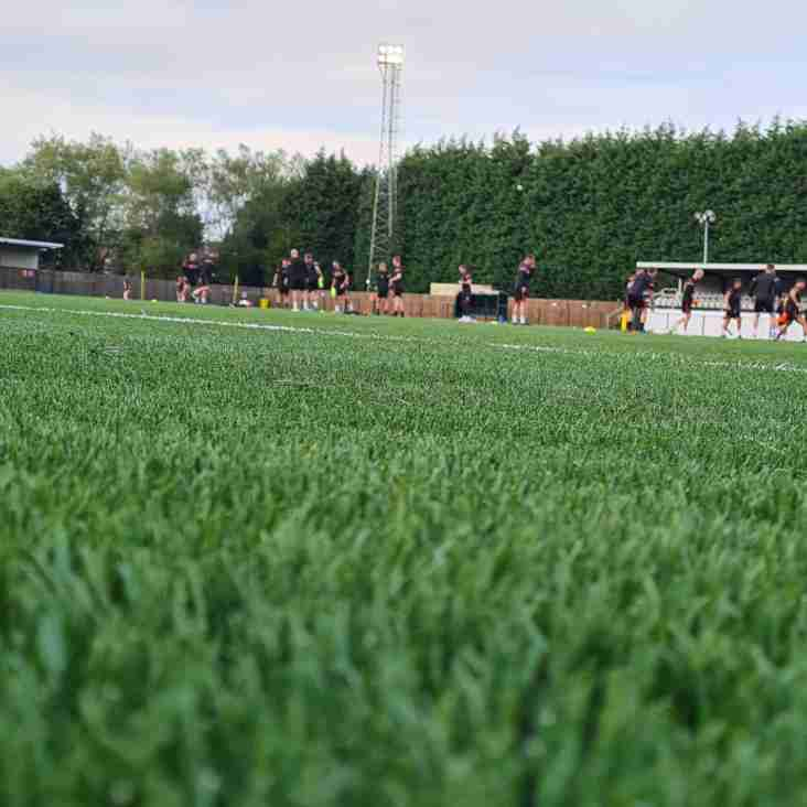 Morpeth Town unveil 3G playing surface