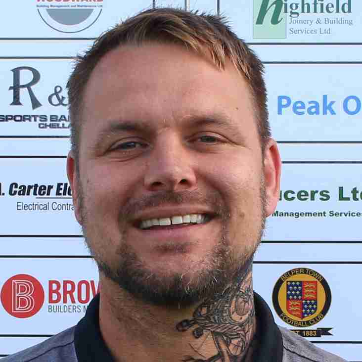 Manager Grant Black signs new Belper Town contract