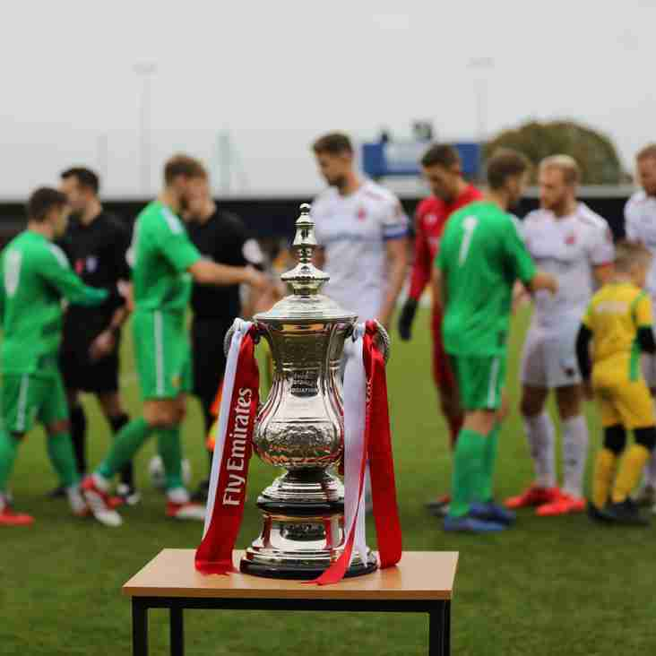 Nantwich and NPL bow out of FA Cup