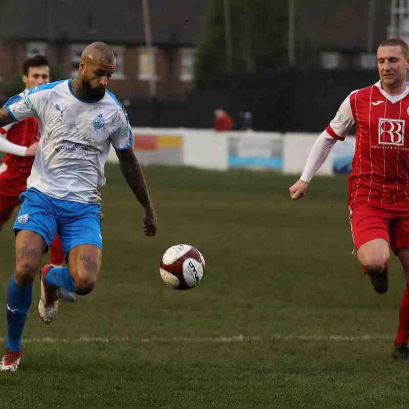 Ashton United 0-2 South Shields 04/01/20 - Darren Murphy
