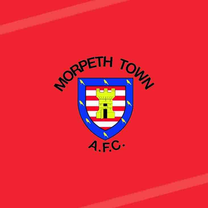 Ryan Hutchinson departs Morpeth Town