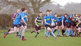 U16's secure Hampshire Vase