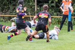 A classic game of two halves resulted in a convincing win for us over Eastleigh II's by 43 – 6